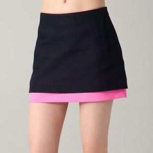 Diane von Furstenberg Elley Colorblock Skirt